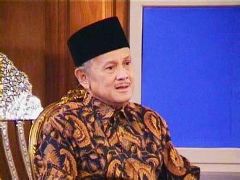 indonesian famous people bj habibie