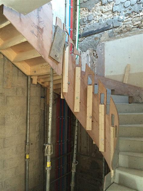escalier coule en place r 233 novation escalier coul 233 sur place coffrages gaillard