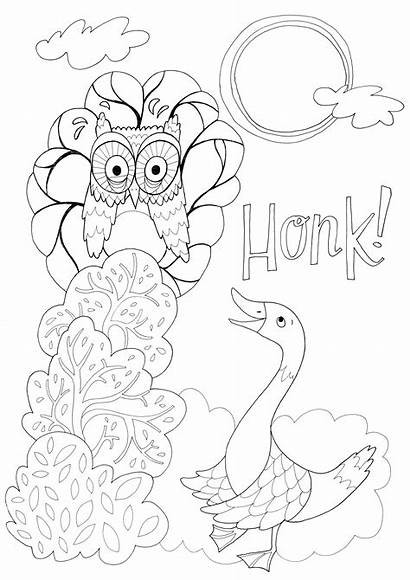 Wig Snooze Colouring Sheet Eilidh Muldoon