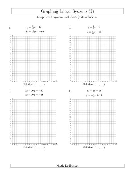 15 Best Images Of Systems Of Equations Worksheets Printing  Systems Of Linear Equations Two