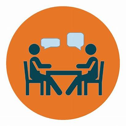 Coaching Coach Conversations Leaders Business Executive Clipart