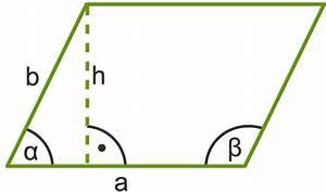 Fehlende Winkel Berechnen : fl cheninhalt und umfang von parallelogrammen berechnen ~ Themetempest.com Abrechnung