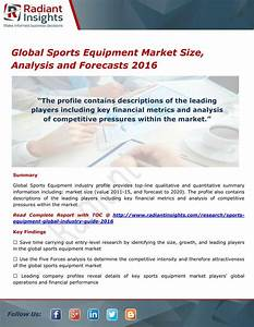 PPT - Global Sports Equipment Market Trends and Growth ...