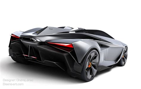 design student creates jet fighter inspired lamborghini