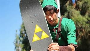 Legend of Zelda: The Skateboard of Time — Link Tears Up A ...