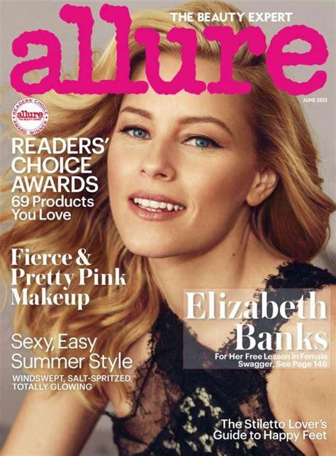 Elizabeth Banks - Allure Magazine June 2015 Issue • CelebMafia