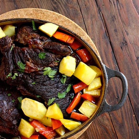Classic Pot Roast With Root Veggies Recipe  Real Plans