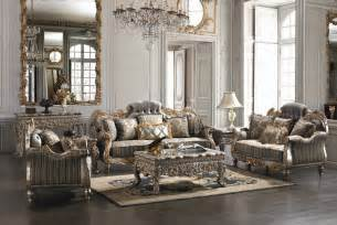 covina high end formal living room set von furniture