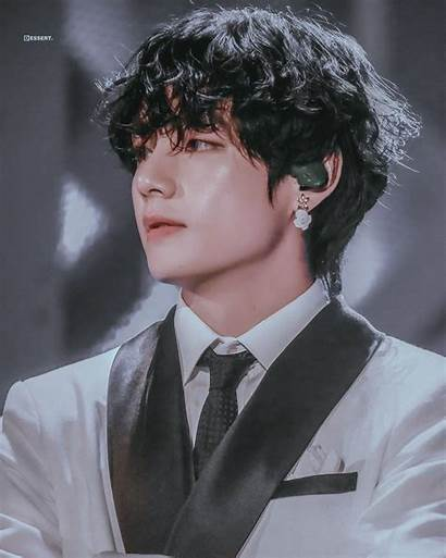 Taehyung Kim Aesthetic Bts Hair Daddy Handsome