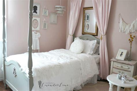 Pink Vintage Girl's Bedroom  Seeking Lavendar Lane