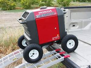 All Terrain Wheel Kit  U2014 Fits Honda Eu3000is Generator  U2013 Farm  U0026 Garden Superstore