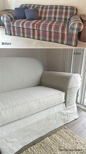 20 collection of denim sofa slipcovers sofa ideas With denim sectional sofa slipcovers