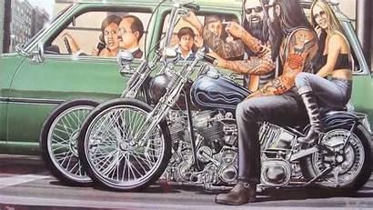 Mann David Motorcycle Harley Motorcycles Ride Easyriders