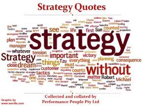 Quotes About Strategy