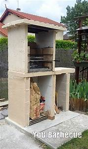 faire son barbecue en beton cellulaire you barbecue With beton cellulaire exterieur barbecue