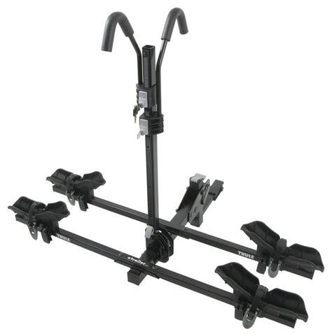 thule doubletrack platform style  bike rack
