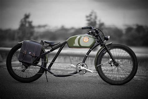 Otocycles Retro styling Electric Bikes Looks Like The