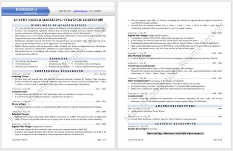 cutting edge industry specific resume sles certified