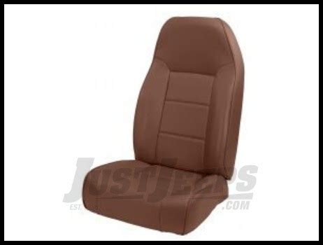 Non Reclining Seat by Just Jeeps Rugged Ridge Premium High Back Non Reclining