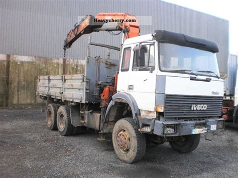 Iveco 330-36 Hw 6x6 1991 Tipper Truck Photo And Specs
