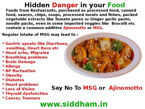 msg in food hidden danger in your food msg or ajinomotto