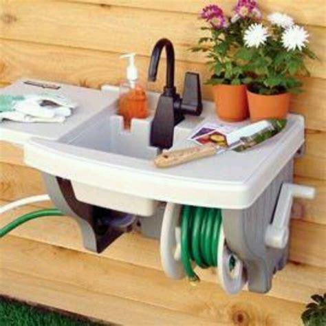 indoor no plumbing sink outdoor sink no plumbing kind of awesome rubbermaid