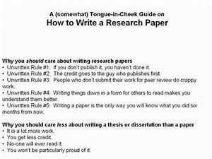 research paper subjects