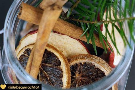 Potpourri Zum Selbermachen by Weihnachtliches Potpourri Selber Machen Bastel