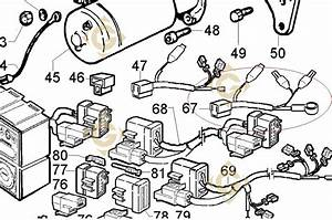 Electrical Wiring 2186143 Engines Lombardini