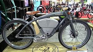 2017 Vintage Electric Bikes Tracker Cruiser Bike