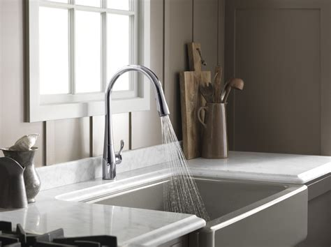 kohler    simplice vibrant stainless steel pullout