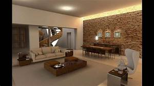 Stone, Wall, In, Your, Living, Room, 17, Brilliant, Ideas