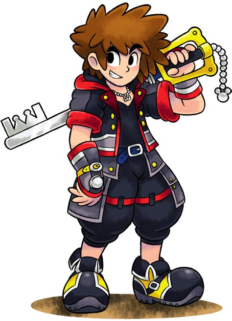 Mm Ml Rpg Style Sora Kingdom Hearts 3 By Master