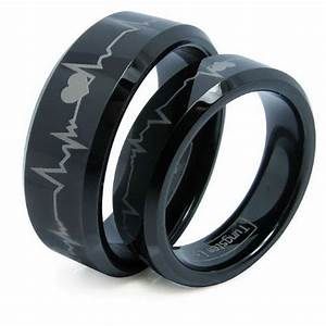 black wedding rings for men and women unique black wedding With black men wedding rings
