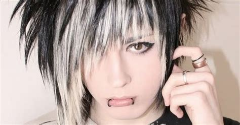 Cool Spiky Emo Hairstyle For Guys Http