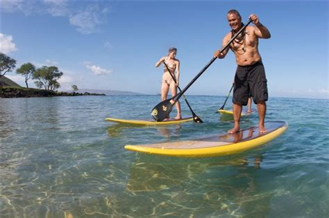 Stand Up Paddle Board Lessons Makena
