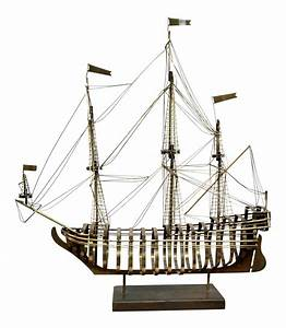 curtis jere brass skeleton sailing ship sculpture chairish With kitchen cabinet trends 2018 combined with c jere metal wall art