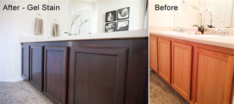Gel Stain Cabinets Before And After by Photos By Www Sharonsphoto Personal Diy Project