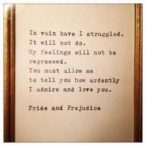love pride  prejudice quotes quotesgram