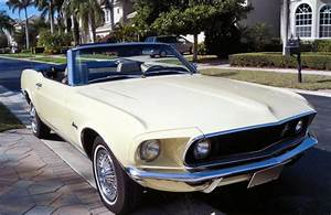 1969 FORD MUSTANG CONVERTIBLE - 75061