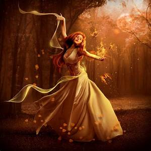 And she danced through the wood Like a gypsy girl should ...
