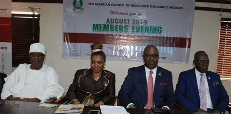 This company offers personal insurance to help protect individuals from potential losses e.g motor insurance, gadget insurance, home insurance, business. SPEECH DELIVERED BY THE PRESIDENT OF THE NIGERIAN COUNCIL OF REGISTERED INSURANCE BROKERS, MR ...
