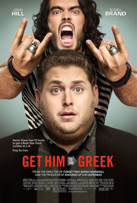 Watch hd movies online for free and download the latest movies. Get Him to the Greek Poster Drops! | Russell brand, Comedy ...