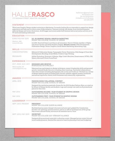 Resume Designs by 50 Inspiring Resume Designs And What You Can Learn From