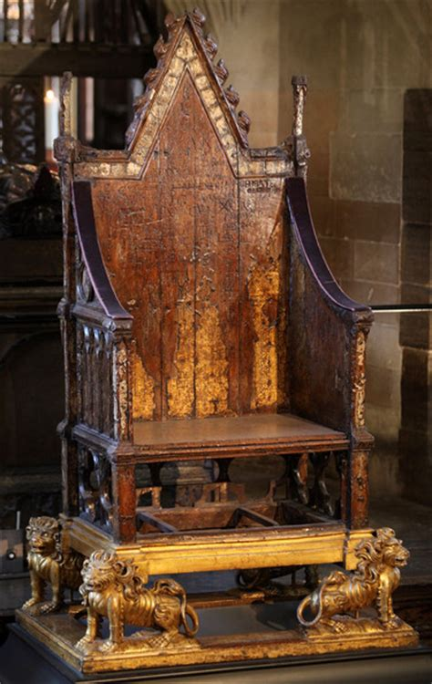 King Edward Coronation Chair the coronation of ii and william iii early modern