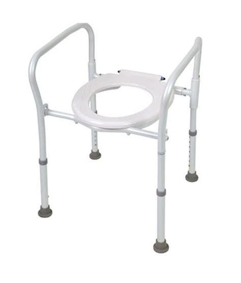 folding  toilet frame life mobility