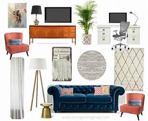 Mood, Board, Dining, And, Living, Room, Design, Plans