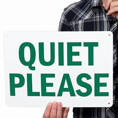 Signs Quiet Please Disturb Office