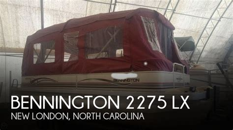 Bennington Boats Sold by Sold Bennington 2275 Lx Boat In New Nc 121664