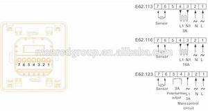 Menred E62    Radiant Floor Heating Systems Programming Electronic Heating Thermostat With Lcd